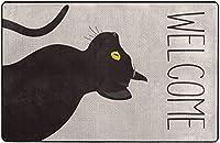 ペット愛好家ハロウィーンスーパーソフト屋内モダンエリアラグふわふわラグダイニングルームホームベッドルームカーペットフロアマットベビーキッズ犬猫80x58インチ-60x39インチ