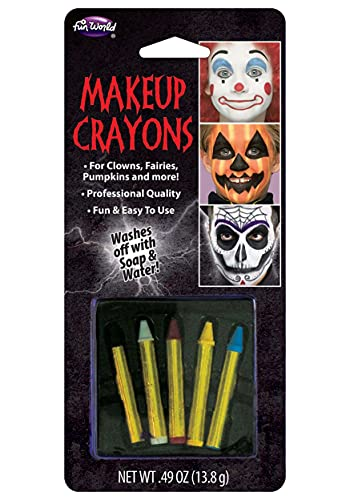Makeup Crayons 5 Assorted Make up Accessory Face paint Fancy Dress