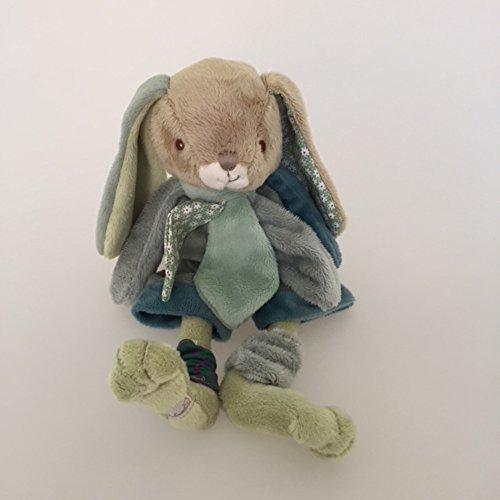 Barbara Bukowski Plüschhase 'Benji - olive / grüne Hose' Häschen 25 cm
