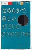[アツギ] ATSUGI STOCKING(アツギ ストッキング) なめらかで、美しい。 〈3足組〉 FP8803P レディース ブラック 日本 M~L (日本サイズM-(日本サイズM-L相当)