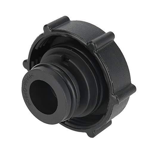 KIMISS Koelmiddel Koelvloeistof Koelmiddel Deksel ABS plastic Koelmiddel Vuldeksel voor X-Type XJ8 XK8 XJR XKR (Zwart)