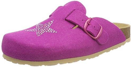 Lico BIOLINE CLOG STAR Unisex Kinder Clogs, Pink, 38 EU