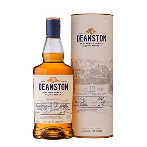 Deanston Single Malt Scotch Whisky 12 Jahre (1 x 0.7 l)