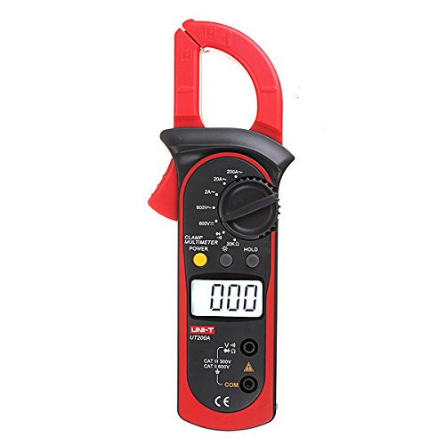 Generic Uni-T UT200A Digital Multimeter Hintergrundbeleuchtung Zangenamperemeter Spannung Amphere Widerstand Tester Meter