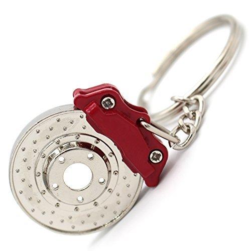 Remschijf Sport Tuner sleutelhanger chroom remklauw remklauw remklauw sleutel auto auto met roterende remschijf