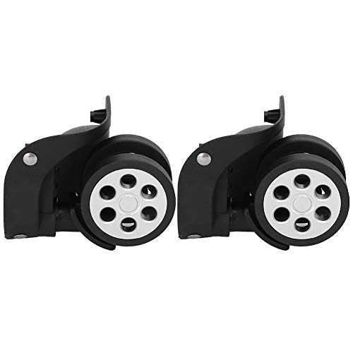 Sturdy Luggage Wheels, Quiet PP+PET Suitcase Wheels Universal Luggage Wheels Replacement Kit