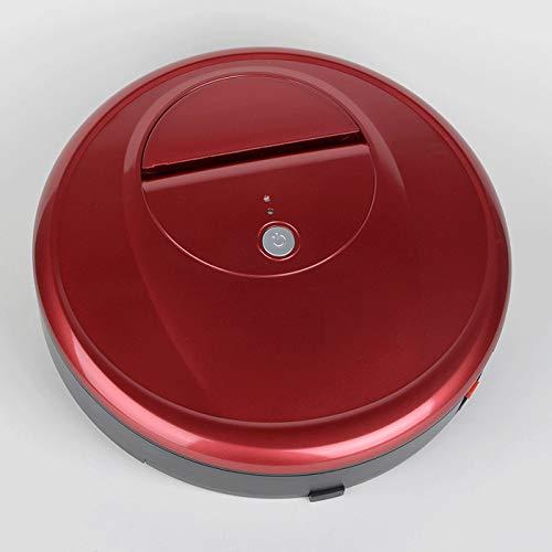 T-ara intelligent Der Neue intelligente ultradünne, intelligente ultradünne Staubsauger-Staubsauger integrierte Maschinenreiniger integrierter Maschinen des Roboterhauses Kein Geräusch (Color : Red)