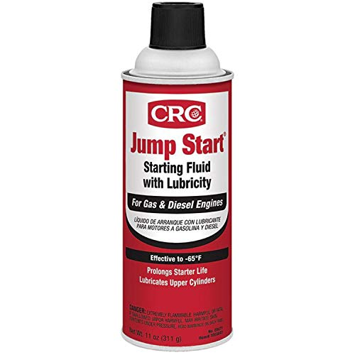 CRC 05671 Jump Start Starting Fluid with Lubricity - 11 oz.
