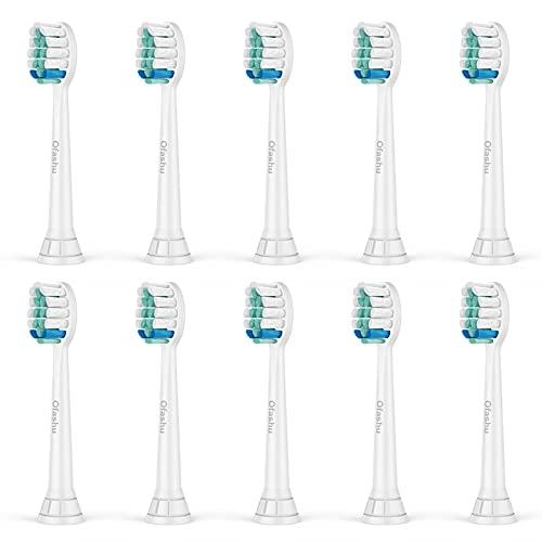 Cabezales cepillo dientes de Philips Sonicare x10 Recambios Cepillo de dientes Electricos de Phillips Sonicare Diamondclean Healthywhite Flexcare, Series 9000, c2, HX6220, HX70022/66, HX6320, HX3250a