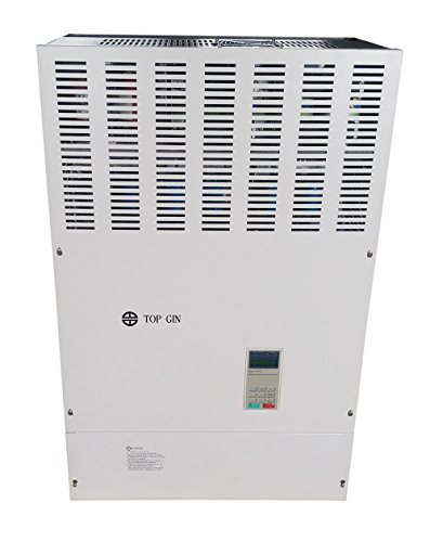 Best Buy! TOP GIN New Professional Variable Load Frequency Inverter 160KW 200HP 380V 270A VFD Motor Drive Starting Torque: 120% / Zero RPM For Spindle Motor Speed Control W/English Manual (VFD-160KW 380V)
