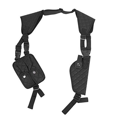 MiOYOOW Schulterholster, Versteckte Unterarm Umhängetasche Nylon Pistolenholster Tasche mit verstellbaren Trägern