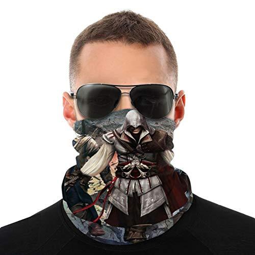 Assassins Creed - Pañuelo para cuello y cuello, bandanas para hombre y mujer