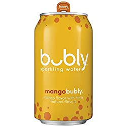 bubly sparkling water mango flavor