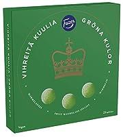 Fazer グリーン マーマレイド 洋ナシ味 グミ 500g× 6 箱 3kg フィンランドのお菓子です  [並行輸入品]