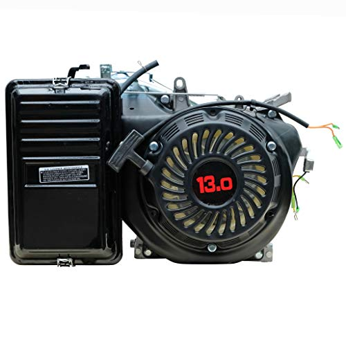 13 PS Benzinmotor Industriemotor | Ersatzmotor für Benzin Stromerzeuger 5 KW | Kartmotor Standmotor Industriemotor 389 ccm