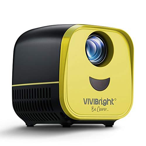 Mini Projector,VIVIBRIGHT Pico LED Projector L1...