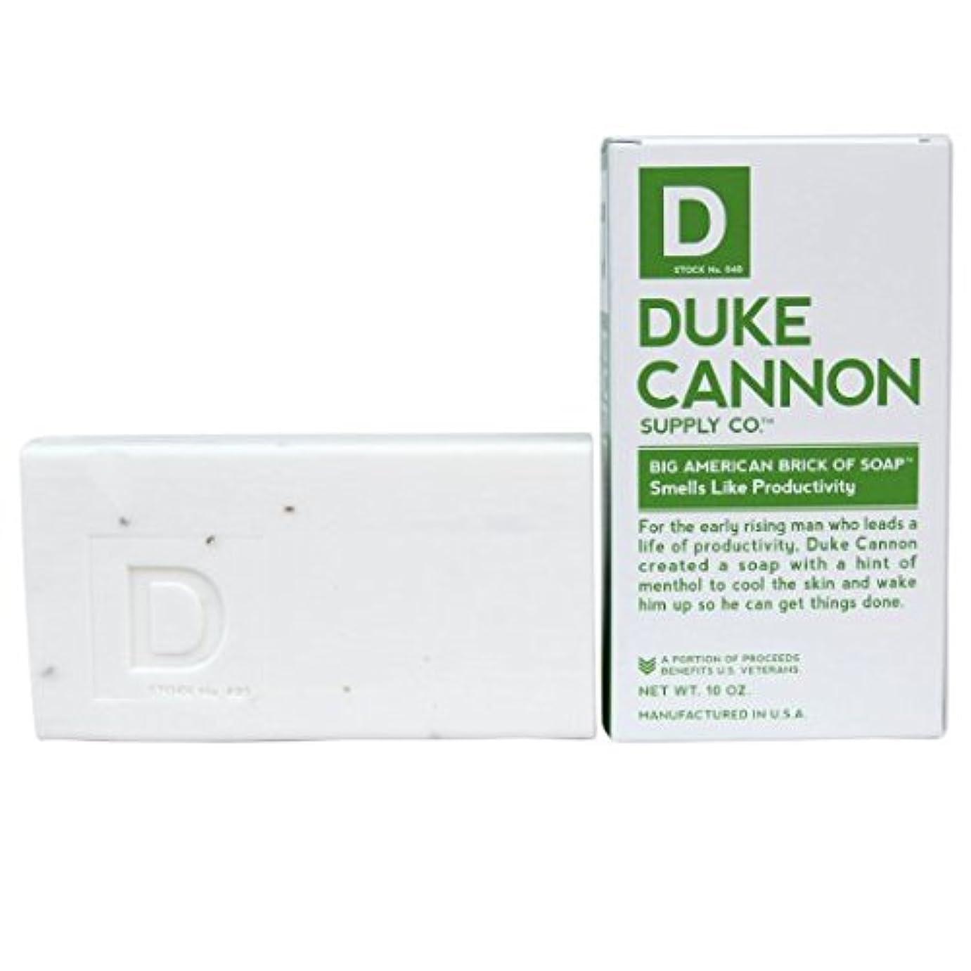駅鍔ウッズDuke Cannon メンズ石鹸10オンス。ソープ匂いのように、生産性のビッグアメリカブリック