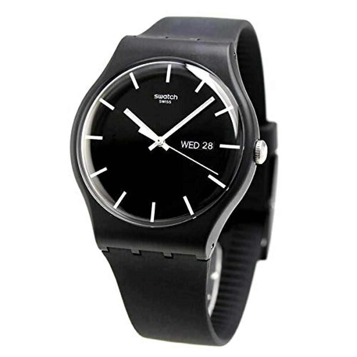 容疑者ナンセンス深遠[スウォッチ] SWATCH 腕時計 オリジナルス ニュージェント 41mm SUOB720 ボーイズ [並行輸入品]