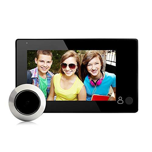 """mejores Mirillas Digitales Vbestlife Visor de Mirilla de Puerta Digital TFT 4.3"""" Monitor de Cámara de Seguridad HD de Ángulo Amplio de 140 °"""