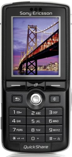 Sony Ericsson K750i schwarz Handy