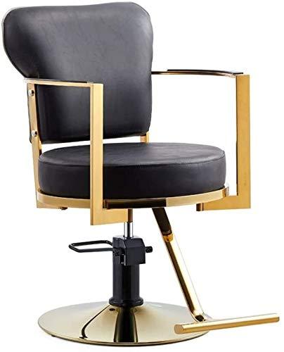 Las sillas de oficina Profesional de Estilo de sillas giratorias de escritorio Silla Silla Silla de ordenador Salon peluquero peluquería de la belleza moderna silla giratoria de piel de elevación hidr
