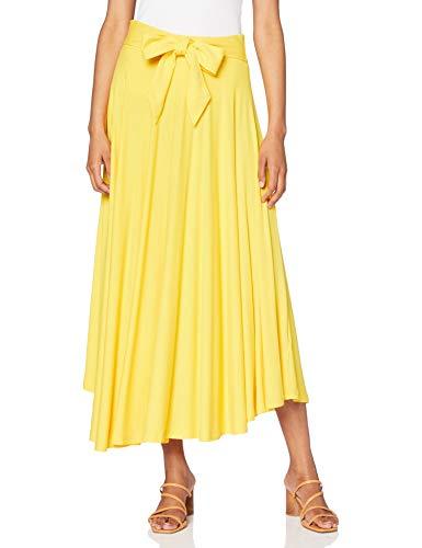 Esprit 070EE1D307 Falda, 720/latón Amarillo, XS para Mujer