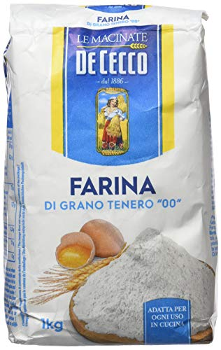"""De Cecco - Farina di Grano Tenero Tipo """"00"""" - 1kg"""