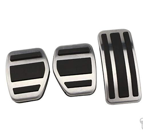 NO LOGO Accessory Gas Modifizierte Pedal Polsterplatte for Peugeot 207 301 307 208 2008 308 408 for Citroen C3 C4 for DS 3 4 6 DS3 DS4 DS6 (Color : Mt)