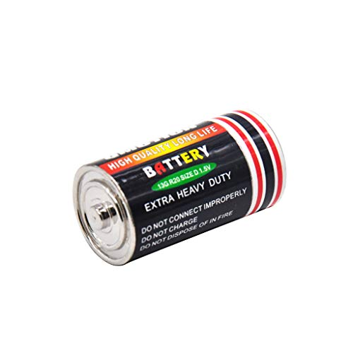 ZZALLL 1PC kleine Batterie Secret Stash caja Ablenkung Safe Pill Box Versteckte Geldmünzen Container Case Aufbewahrungsbox - Mix Color