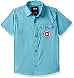 Captain america Boys  Shirt
