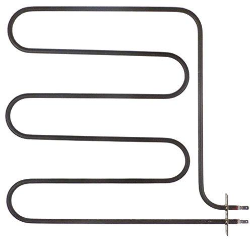 Heizkörper für Backofen für Grillfunktion 2500W 230V Länge 358mm Breite 360mm Anschluss Flachstecker 6,3mm B1 325mm B2 34mm