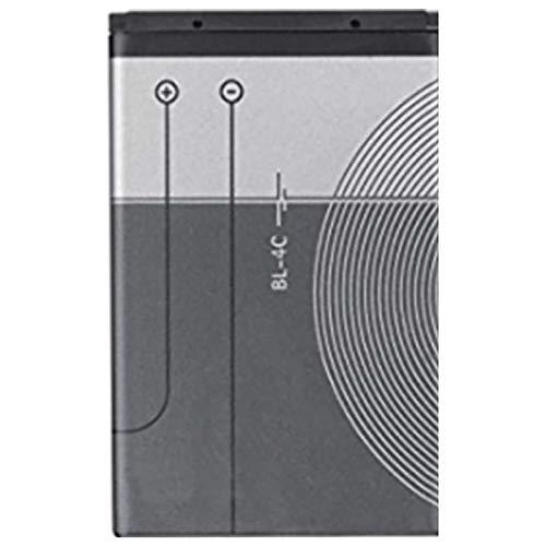 Ellenne Batteria Compatibile con Nokia BL-4C 6300 1202 1662 2650 3500 Alta capacità