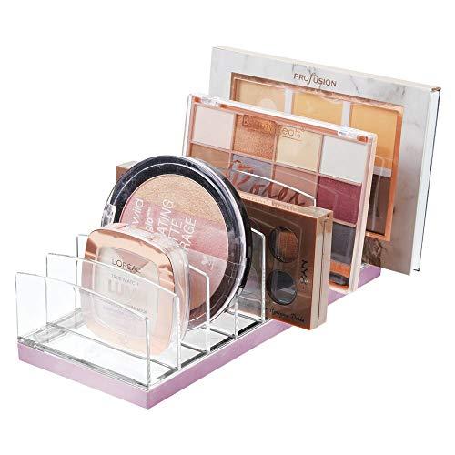 mDesign Organizador de Maquillaje de plástico – Clasifica