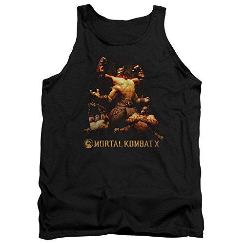 Mortal Kombat - - Débardeur Goro pour hommes, Large, Black