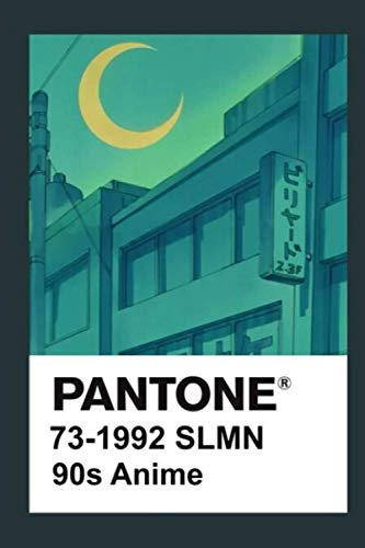 Pantone 90S Anime 2 Notebook: (110 Pages, Lined, 6 x 9)
