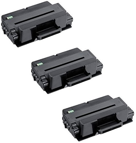 3 Toner kompatibel für Dell B2375dfw B2375dnf B2375dn - Schwarz, hohe Kapazität (10.000 Seiten)
