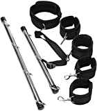 Behind Back Steel Spreader Stick Hands and Legs Neck Choker Toy