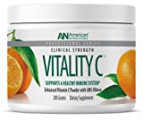 American Nutriceuticals Vitality C - 200 grams | Ultra High-Potency Vitamin C Powder Without Gastric Distress| Enhanced Absorption, Neutral pH with GMS-Ribose Complex