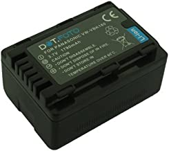 Panasonic VW-VBK180  VW-VBK180E-K PREMIUM Replacement Rechargeable Camcorder Battery from Dot Foto 3 7v 1790mAh Year Warranty  See Description for Compatibility