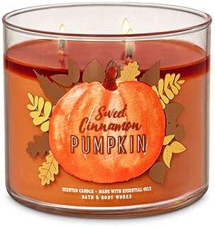 Bath and Body Works Sweet Cinnamon Pumpkin 3-Wick Candle 14.5 oz / 411 g
