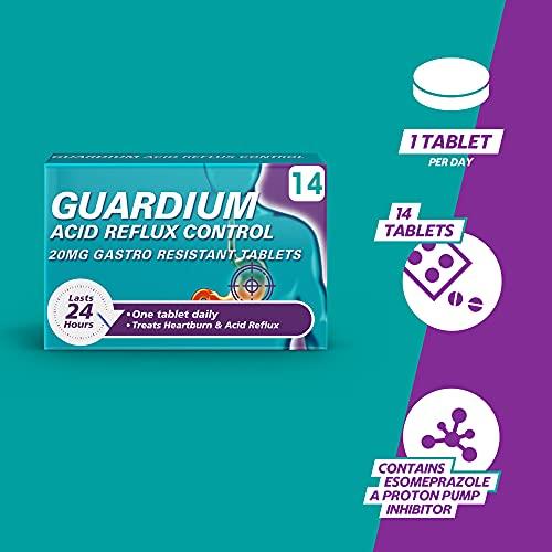 GUARDIUM Tablets Heartburn and Acid Reflux Control by Gaviscon
