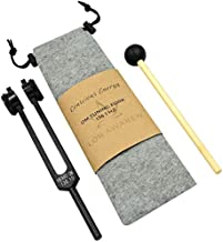 Tuning Forks, LOR AWAKEN OM 136.1HZ Tuning Fork, Tuning Fork for Healing, Meditation, Biofield Tuning, Chakra Balancing, Yoga Tuning Fork, Channel OM Energy & Connect to The Earth Frequency (Black)