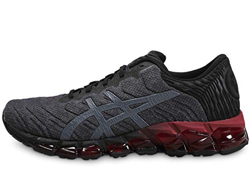 Asics Mens Gel-Quantum 360 5 Running Shoe, Black/Carrier Grey, 48 EU
