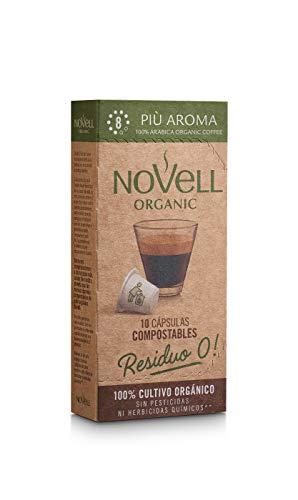 Cápsulas Compostables con café Ecológico - Più Aroma - 10u
