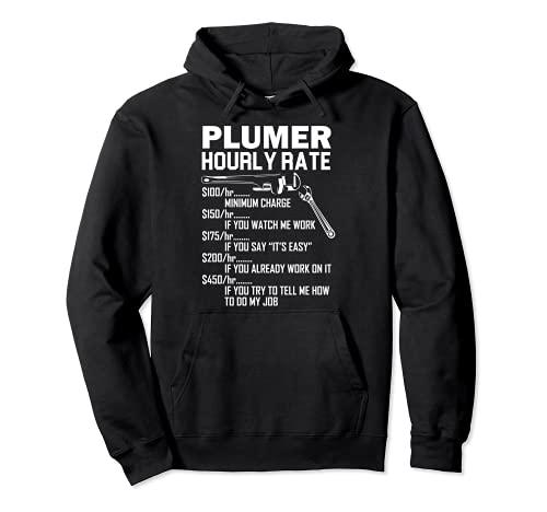 Plumber Jokes Plumber Equipment Plumbing Tool Plumbing Pipe Pullover Hoodie