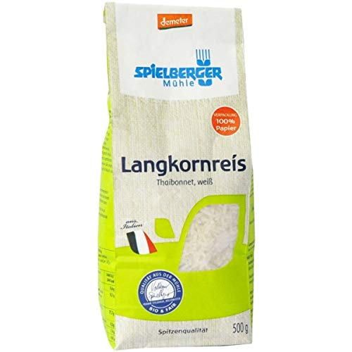 Spielberger Thaibonnet-Langkorn-Spitzenreis, weiß (500 g) - Bio