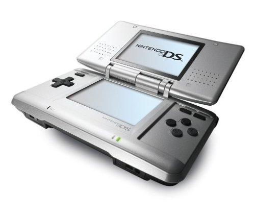 Nintendo DS - Konsole, silber