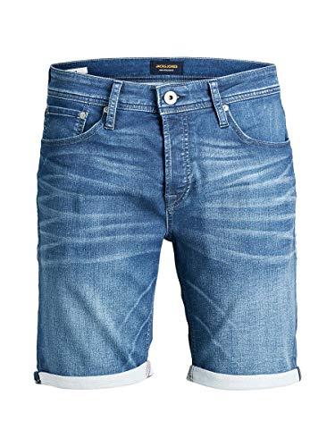 Jack & Jones Jjirick Jjorg Shorts Jos 497 I.k STS Pantalones Cortos, Azul (Blue Denim Blue Denim), 54 (Talla del Fabricante: Large) para Hombre
