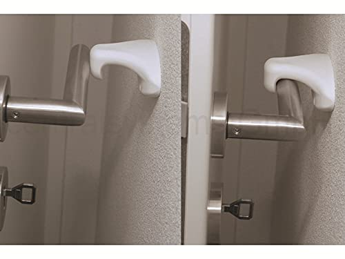 ClipOn Türstopper - Türhalter - weiß