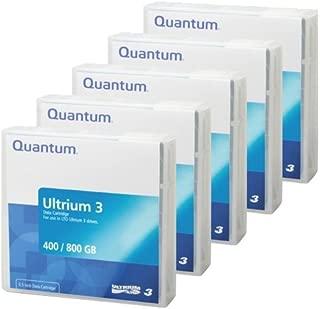 5-Pack QUANTUM LTO-3 MR-L3MQN-01 Ultrium-3 Data Tape Cartridge (400/800GB)